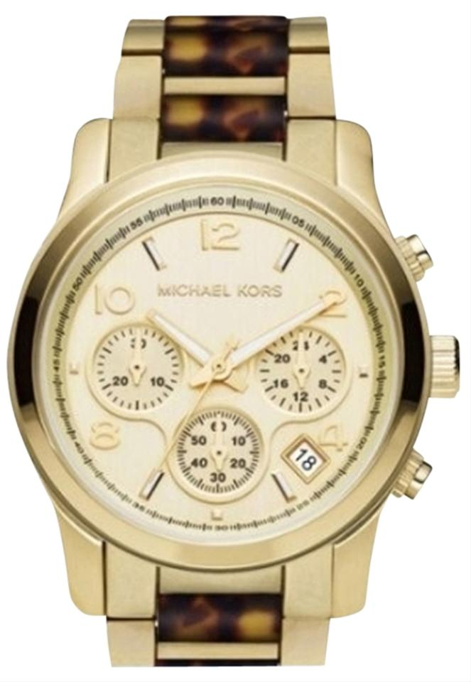 Michael Kors Tortoise Watch 46 Off Michael Kors