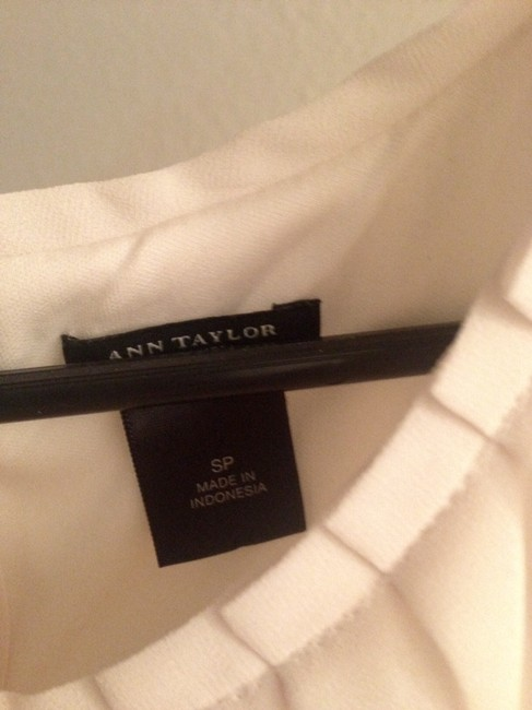 Ann Taylor Top Cream