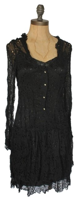 Preload https://item4.tradesy.com/images/anthropologie-black-hazel-embroidered-eyelet-knee-length-night-out-dress-size-4-s-5373643-0-0.jpg?width=400&height=650