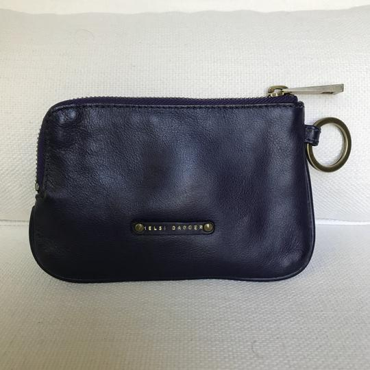 Kelsi Dagger Small Leather Wallet with a key ring