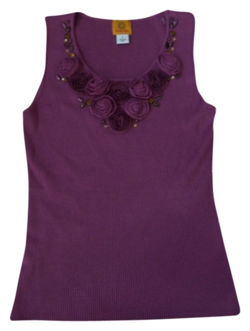 Preload https://img-static.tradesy.com/item/537570/ruby-rd-purple-wonder-fall-embellished-ribbed-scoop-neck-shell-tank-topcami-size-4-s-0-0-650-650.jpg