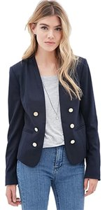 Forever 21 BUTTON-FRONT BLAZER