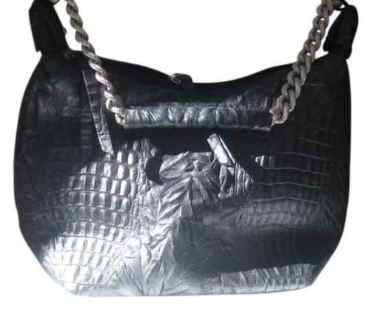 Preload https://item1.tradesy.com/images/corrugated-over-black-leather-shoulder-bag-537670-0-3.jpg?width=440&height=440