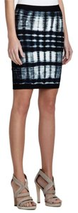 BCBGMAXAZRIA Mini Skirt Blue Combo