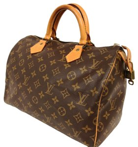 Louis Vuitton Artsy Alma Monogram Leather Shoulder Bag