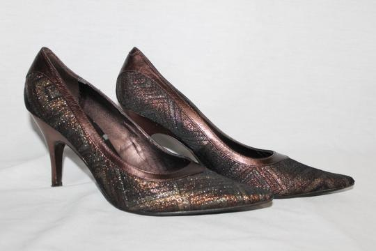 Nine West Brown Multi Pumps