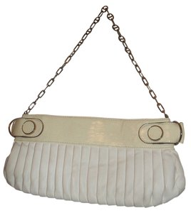 Rampage Hobo Small Handbag white/cream Clutch