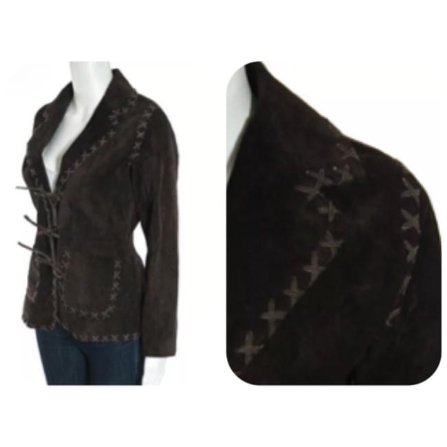 For Joseph Dark Brown Leather Jacket