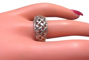 Other Sterling Silver Woven Dome Ring
