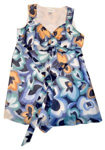 Motherhood Maternity Baby Bump Prego Tunic Top Multi