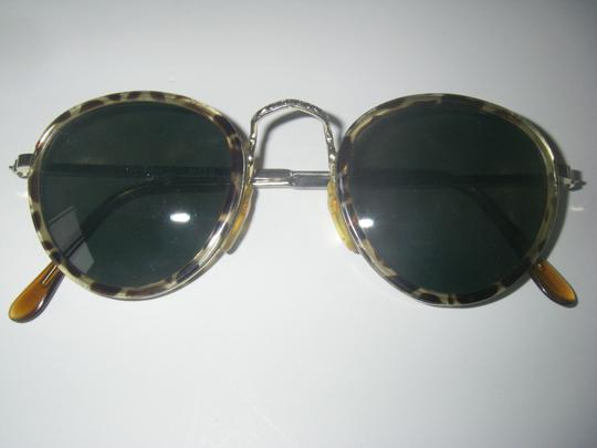 Other Vintage Round Tortoise Frame Sunglasses Metal Temples Taiwan Vintage 1970s