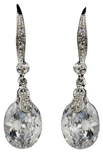 Elegance by Carbonneau Classic Bridal Dangle Earrings