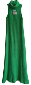 Kelly Green Maxi Dress by S. Howard Hirsh