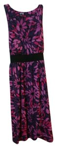 Apt. 9 short dress Purple Floral on Tradesy