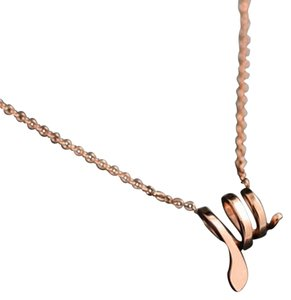 Titan Bliss Coiled Up Snake Necklace