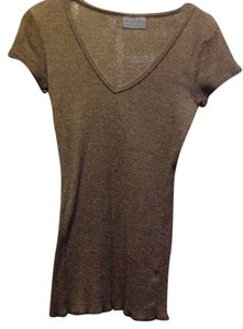 Michael Stars T Shirt Brown