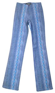 Tark 1 Animal Print Skinny Pants Blue