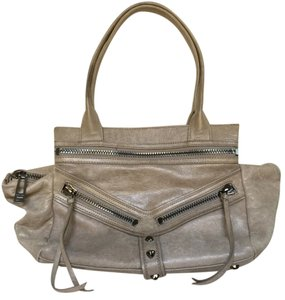 Botkier Satchel in Grey/Beige