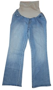Motherhood Maternity MOTHERHOOD MATERNITY Paneled Blue Stretchy Denim Jeans