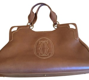 Cartier Tote in Camel