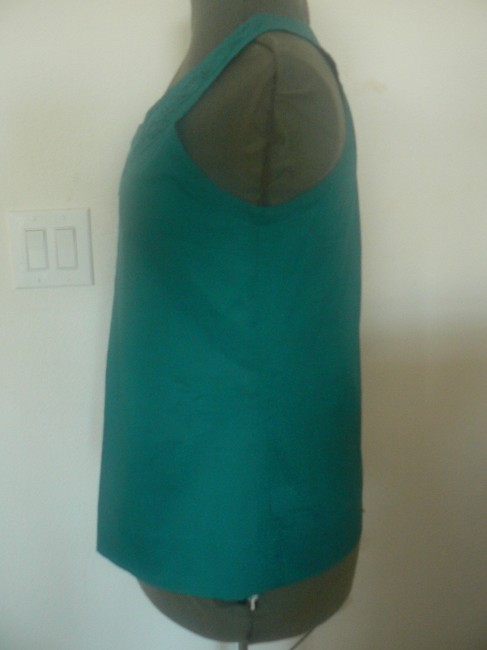 Apt. 9 Sleeveless Rose Embroidery Top Deep Turquoise