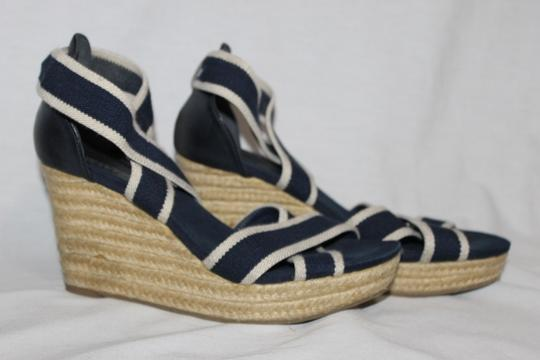 Kenneth Cole Reaction Navy Wedges