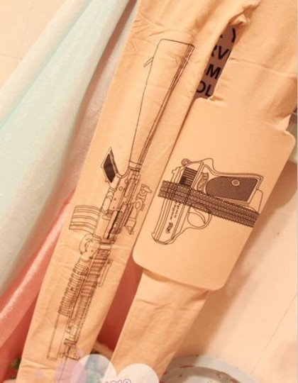 Other Gun Machine Tattoo Stocking