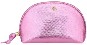 Tory Burch Metallic Mini Cosmetic Case