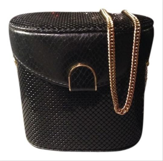 Preload https://item2.tradesy.com/images/whiting-and-davis-sequin-black-snakeskin-leather-clutch-538231-0-0.jpg?width=440&height=440