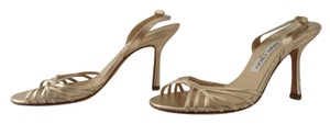 Jimmy Choo Strappy Sandal Gold Sandals