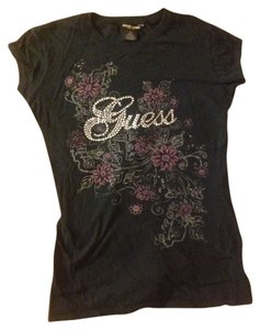 Guess T Shirt Black
