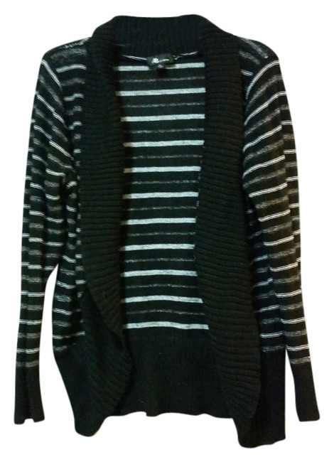 Preload https://item2.tradesy.com/images/a-byer-cardigan-black-gray-and-white-5382646-0-0.jpg?width=400&height=650