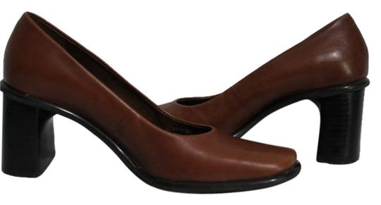 Preload https://item4.tradesy.com/images/franco-sarto-brown-leather-very-good-condition-pumps-size-us-55-regular-m-b-5382748-0-0.jpg?width=440&height=440