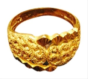 Solid Yellow Gold 23k