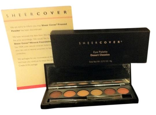 """sheer cover Sheer Cover Brand New In Box """"MODERN CLASSICS, 6 Shade Eye-Shadow Mirrored Compact W/ Applicator CHAMPAGNE-(Brownish Color) Khaki-(Cream Color) SABLE-( Brownish Color) WINE-(Rasberry Brown Color) C HARCOAL-(Brown/Black Color )Mauve-(Pinkish Rose Color) ,NOT AVAILABLE IN STORES Retail $42"""