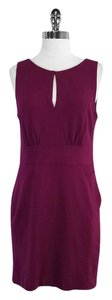 Cynthia Steffe short dress Deep Magenta Sleeveless on Tradesy