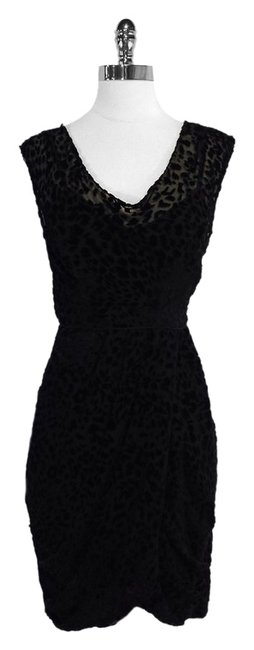 Preload https://item1.tradesy.com/images/plenty-by-tracy-reese-black-velvet-leopard-print-mid-length-short-casual-dress-size-2-xs-5383270-0-0.jpg?width=400&height=650