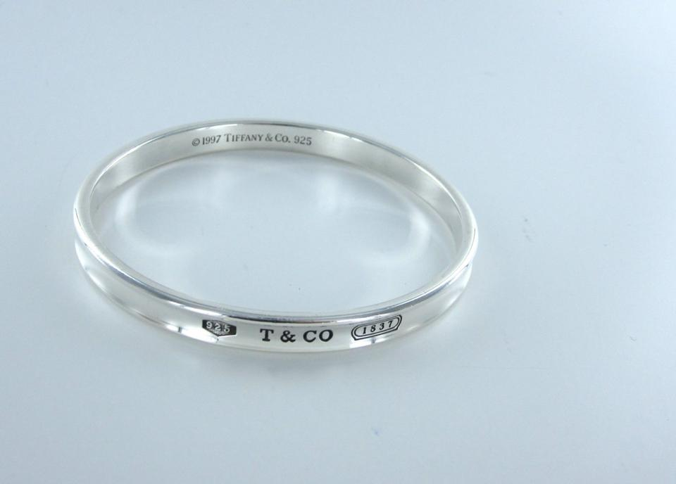 Tiffany Amp Co 1837 Bangle Sterling Silver 1997 Bracelet