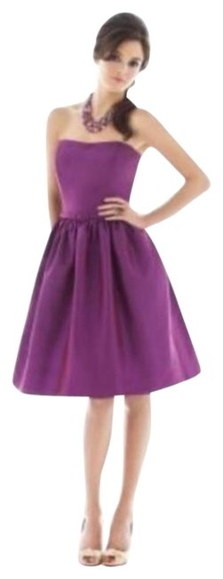 Alfred Sung Strapless Length Dress