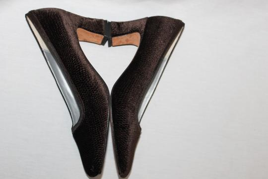 Nina Dark Brown Pumps