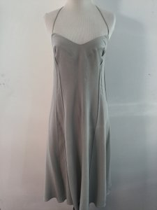 Narciso Rodriguez short dress Silver Grey on Tradesy