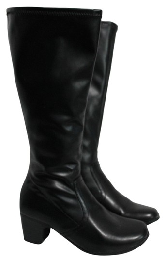 Preload https://item2.tradesy.com/images/george-black-very-good-condition-bootsbooties-size-us-6-regular-m-b-5384881-0-0.jpg?width=440&height=440