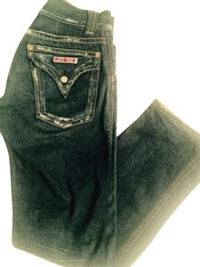 Hudson Jeans Straight Leg Jeans-Distressed