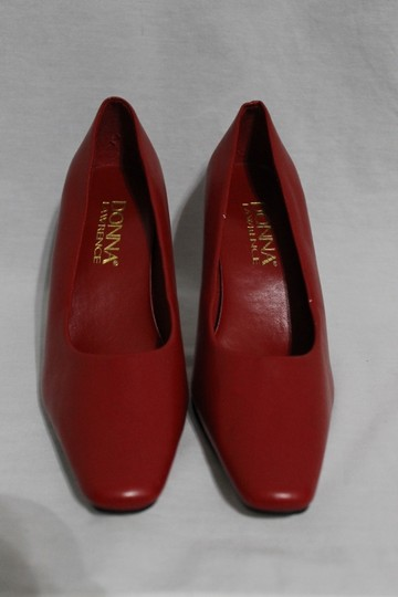 Donna Lawrence Red Pumps