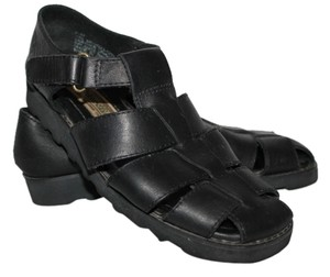 Saint John's Bay Black Sandals
