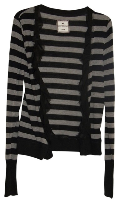 Preload https://item1.tradesy.com/images/poof-excellence-blackgray-cardigan-size-4-s-538575-0-0.jpg?width=400&height=650