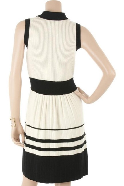 MILLY Cashmere Sweater Preppy Nautical Buttons Dress