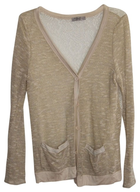 Preload https://item3.tradesy.com/images/issi-ivorygold-metallic-cardigan-size-8-m-538602-0-0.jpg?width=400&height=650