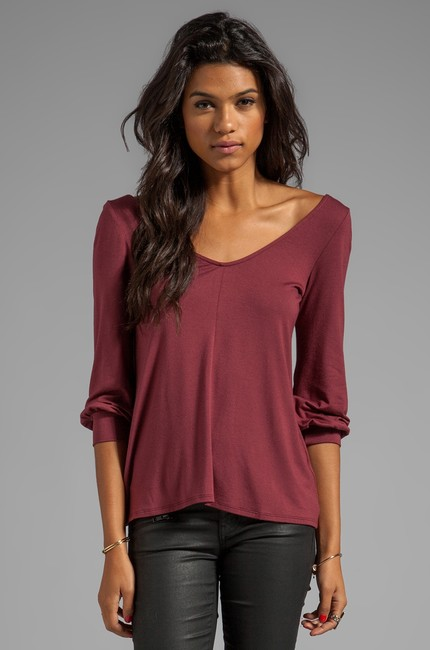 Rachel Pally Cutout Tunic Brown Top pinot
