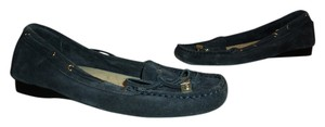 Michael Kors Loafers Moccasins Slip-on Navy Blue Flats